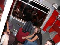 Jeunes Train Lourdes