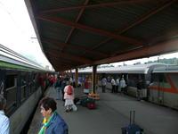 Arrivée Lourdes les 2 trains