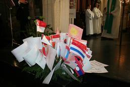 081012 - Bouquet de drapeaux