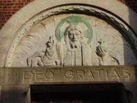 tympan Deo Gratias