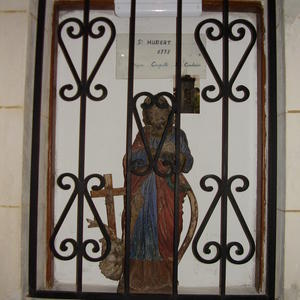 St Hubert en bois d'épines