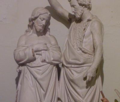 le baptème de Jésus