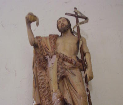 statue st Jean Baptiste