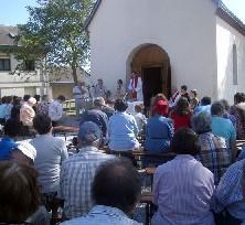 Messe au Sanstaire de l