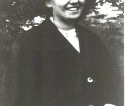 Gertrud de Bullion, 1ère femme du Mouvement de Sch