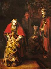 Le retour du fils prodique - Rembrandt