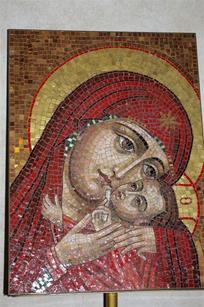 vierge mosaïque