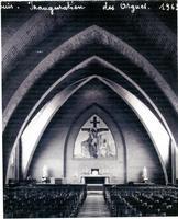 1963 inauguration des orgues