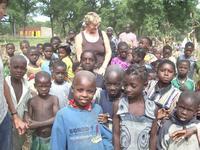 Marie et enfants