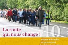 """Couverture livret """"la route qui nous change"""""""