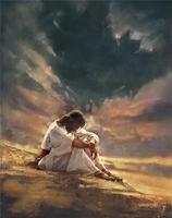 Jésus dans le desert
