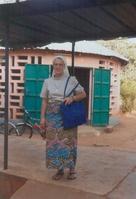 Soeur Christiane-Marie GALMAND, responsable du centre P.M.I. de Korbongou