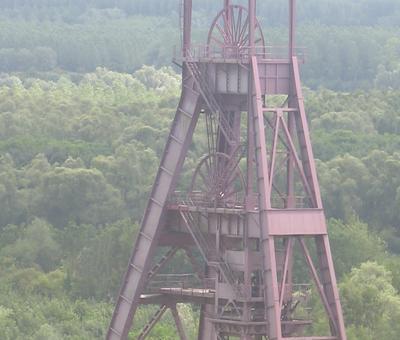 Fosse Ledoux vue du haut du terril CONDE