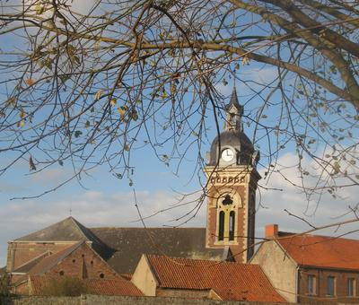 Eglise Saint-Amand à Hergnies