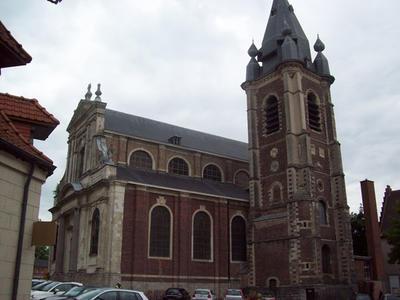 Eglise St Wasnon à Condé/L'Escaut