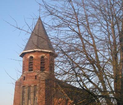 Eglise Saint-Maurice à Bruille Saint-Amand