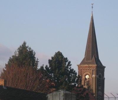 Eglise Notre-Dame vue depuis la chapelle de Notre-Dame de Malaise