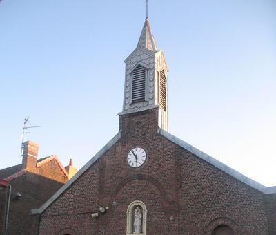 Eglise Notre-Dame du Mont-Carmel à Fresnes (Le Trieu - Place Barbusse)