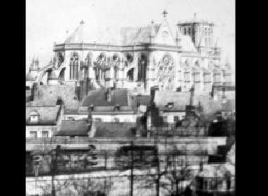 Vue des toits de Valenciennes