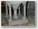 Place originale de baptistère