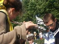 Cecile a la flute