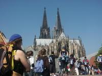 Marche vers la cathedrale