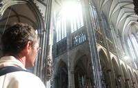Arrivee a la Cathedrale