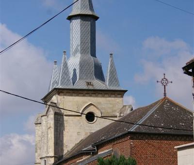 vue église