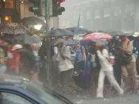 Un orage s'abat sur Cologne