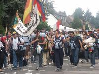 Marche vers MarienFeld