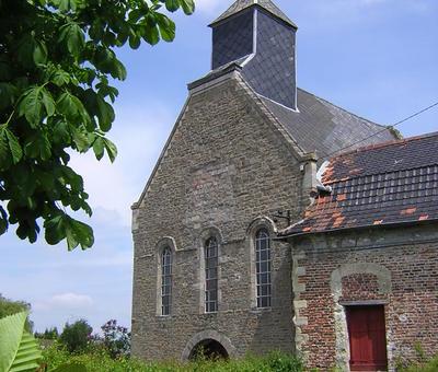Chapelle Notre-Dame de Malaise à Bruille Saint-Ama