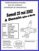 affiche veillée vocation Denain (2)