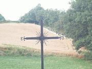 croix sur la route