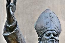 Pope John Paul II statue