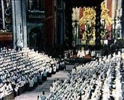 Les évêques au Concile