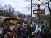 Des métros surbondés demandes de l'attention...