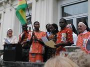 Tous chantent l'hymne togolais