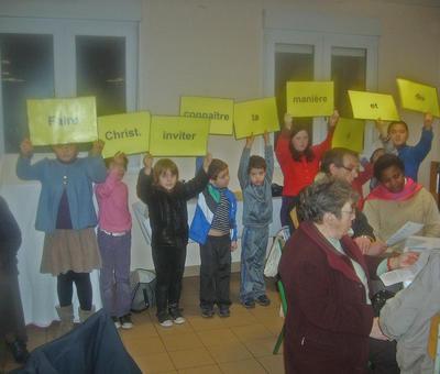 La découverte du projet pastoral avec les enfants