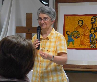 soeur Bernadette du Cénacle