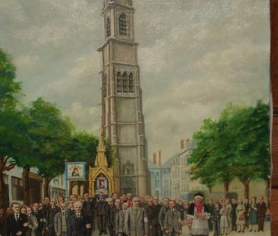 peinture de Mr Boda (1950 env.)