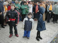 Enfants prêts à intervenir