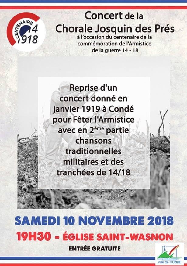 Affiche concert du centenaire