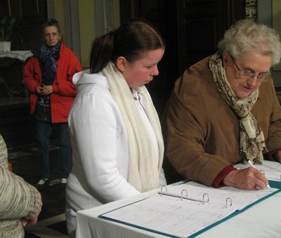 Les signatures après le baptême
