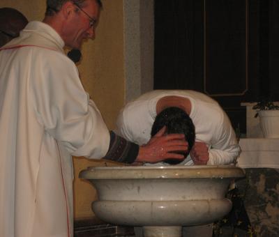 Le moment du baptêmetereArnoBis