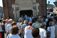 A la chapelle pour la bénédiction