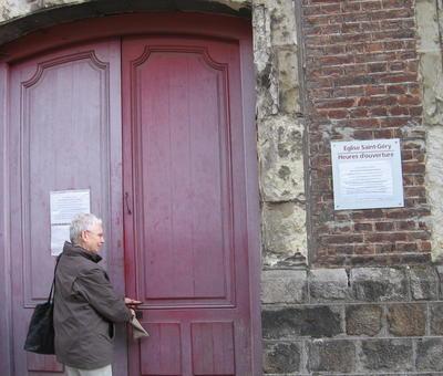 L'église St Géry s'ouvre... ou bien se ferme