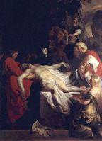 La mise au tombeau du Christ de Rubens