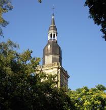 Le clocher par un beau jour d'Août 2009