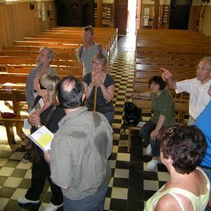 L'arrivée dans l'église St Jacques.JPG
