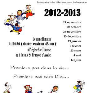 Eveil 2012-2013